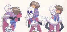 Frisk and Papyrus ~ Undertale