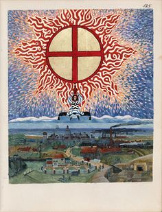 Red book: A page from the The Red Book: Liber Novus by C.G. Jung