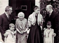 Princess Grace of Monaco visits Ireland with husband Prince Rainier and children Albert and Caroline