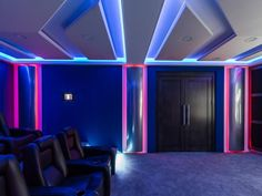 See photos about Home Theater Designs From CEDIA 2014 Finalists from HGTV #hometheater