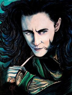 Beautiful Loki art