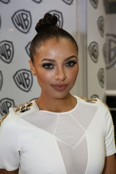 Kat Graham at Comic-Con® 2015! #CWSDCC #TVD