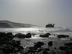 American Star Ship Wreck - Fuertaventura November 2005 - Derelict Places