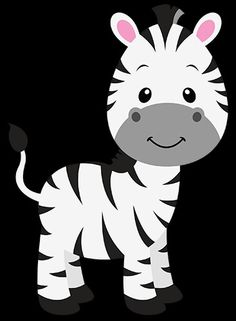 Fantastic drawing of a nice and smiling young zebra. Animals have always fascinated children Safari Party, Jungle Party, Safari Theme, Safari Png, Party Animals, Jungle Animals, Animal Party, Decoration Creche, Jungle Theme Birthday