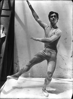 Nicholas Zverev in Parade, 1917, costume by Pablo Picasso for Les Ballets Russes