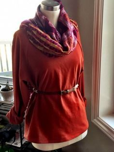 Bethioua Top by Elle Puls, via Indiesew | Right Sides Together