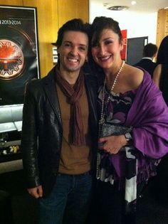 María José Montiel with Ángel Corella (dancer) Mezzo Soprano, Maria Jose, Dancer, Dancers