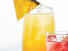 Break out the punch bowl for a sparkly, citrusy, pineapple punch fun for crowds of all ages. This also makes a great spiked punch; Citrus Punch Recipe, Punch Recipes, Drink Recipes, Watermelon Punch, Pineapple Punch, Hawaiian Punch, Pitcher Drinks, Mason Jar Drinks, Batch Cocktail Recipe