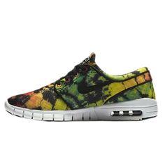 size 40 6c2f3 eb30a Details about Nike SB Stefan Janoski Max Premium Men s Size 10.5 Yellow  Green Rasta NEW
