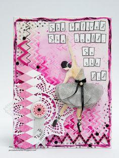#balerina #canvas #scrapandme