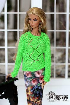 474 Besten Knit Crochet For Barbie Bilder Auf Pinterest In