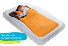 the shrunks toddler bed - travel bed