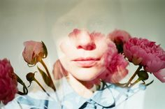 Self-Portraits and Friends: The Photography of Lina Scheynius. http://illusion.scene360.com/art/83153/lina-scheynius/ #doubleexposure