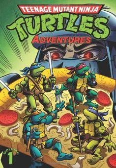 Teenage Mutant Ninja Turtles Adventures Volume 1 by Steve LaVigne http://www.amazon.ca/dp/1613772890/ref=cm_sw_r_pi_dp_jSkKwb09V8JG9