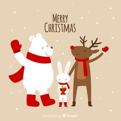 More than a million free vectors, PSD, photos and free icons. Exclusive freebies and all graphic resources that you need for your projects Christmas Poster, Christmas Clipart, Christmas Tag, Christmas Design, Christmas Greeting Cards, Christmas Printables, Christmas Greetings, Vintage Christmas, Childrens Christmas
