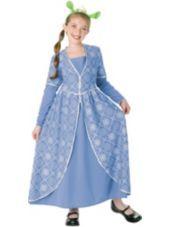 Girls Princess Fiona Costume-Party City $15