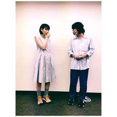 私が勝手にライバル視していた、 #峯田和伸 さんと! #奇跡の人 凄かったです。 #銀杏BOYZぴあ にお邪魔しました。