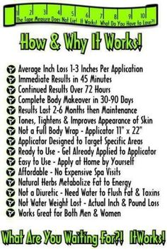 All about this Crazy Wrap TIt Works Global and the It Works body wrap.  Get on the crazy train with that crazy wrap thing. It has worked for me and it could work for you. Contact me at renewalbeth.myitworks.com. Check it out, host a party and wrap for free, sign up as a loyal customer and save, or join my team and make some extra cash I can help you get your sexy back! This product can not be found in stores and it really does work. It Works! Global is changing people's lives everyday!