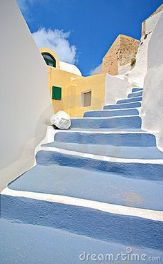 Scene From Oia Village On Santorini Island Stock Photo - Image of cloud, home: 6973830 Santorini Island Greece, Santorini House, Fira Santorini, Santorini Travel, Santorini Wedding, Greece Islands, Crete Greece, Greece Travel, Dot Art Painting