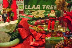 Save Money with Dollar Tree Christmas Decorations and Giveaway