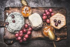 Rustic tasty cheese plate  by VICUSCHKA on @creativemarket