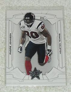 Andre Johnson 2008 Leaf Rookies  Stars NFL Football Card 38 >>> Learn more by visiting the image link.