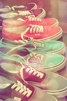 VANS! i love all of these