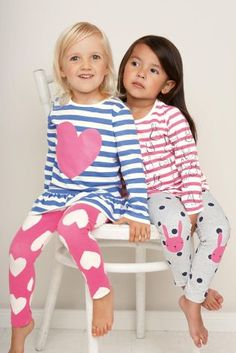 f2bc073c79 Buy Two Pack Heart Bunny Tunic Leggings Pyjamas (12mths-6yrs) online today  at