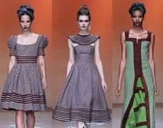 Recent Tlale Shweshwe Designs & African Print 2016 - Reny styles African Wear, African Women, African Dress, African Clothes, Seshweshwe Dresses, Traditional Wedding Dresses, Dress Picture, African Fashion Dresses, Two Piece Skirt Set