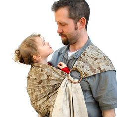 Ring Sling Baby Carrier Marine Corps desert digi camo Pleated - Many colors/styles in Shop - Made to Order. $56.00, via Etsy.