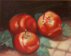"""""""Garden Beauties"""", oil on canvas"""