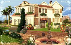 My houses to The Sims4 — Familia VillaNo6-BaseGame DOWNLOAD