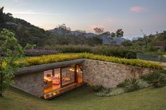 MPG Arquitetura » Residencial » Residência GN #greenroofs