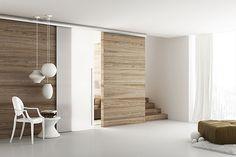 puerta corredera de gran tamaño, me gustaría dejar abierta casi toda la pared de la cocina. Estaría bien, eh?