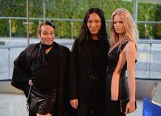 "Chris Kattan as ""Mango,"" Alexander Wang and Anna Ewers. Photo: WireImage"