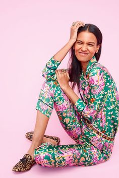 BLOGGED: Read about the J. Crew X Drake's Collaboration of printed silk pyjama-style separates, shoes and scarves.