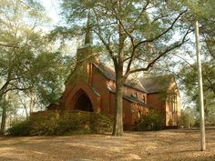 """Sorrell Chapel: Troy, Alabama where we said """"I do. Troy Alabama, Sweet Home Alabama, Alabama Football, Troy Trojans, Troy University, Dream Big, Adventure Travel, Places Ive Been, Cathedral"""