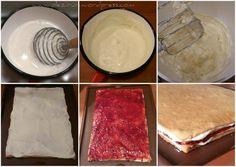 Prajitura-din-foi-cu-miere-si crema-de-gris3 Ice Cream, Desserts, Cakes, Food, No Churn Ice Cream, Tailgate Desserts, Deserts, Cake Makers, Icecream Craft