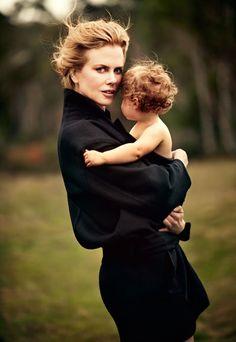 Nicole Kidman by Will Davidson for Harper's Bazaar