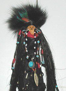 Native American Apache Spirit dolls