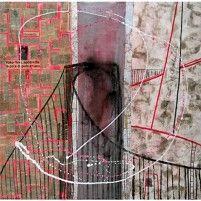 46° 44′ 41″ N 71° 17′ 25″ W - Pierre-Laporte   91 x 91 cm   Techniques mixtes sur toile