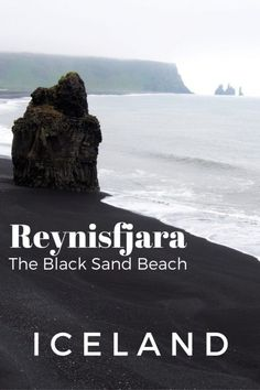 Reynisfjara: The Black Sand Beach in Iceland | See what the other attractions are on the beach plus tips.