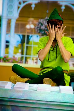 K, I looked EVERYWHERE for this dude while I was in Magic Kingdom, and could not find him!  Lol, Peter Pan, WHY?!  X)