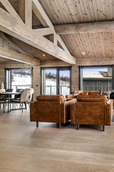 Cabin Interior Design, Chalet Interior, Country Interior, Contemporary Cabin, Contemporary Interior, Cabana, Wooden House Design, Timber Cabin, Modern Barn House