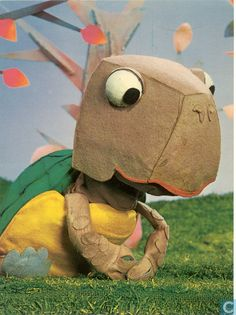 Stoffel de schildpad uit de Fabeltjeskrant