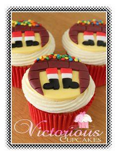 Galería de cupcakes navideños 2.