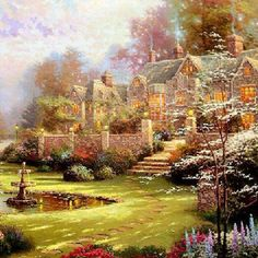 Truly the painter of light. Rest in peace Thomas Kinkade.