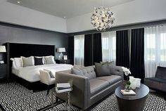 """Grace R on Instagram: """"No matter the size and style of a bedroom, adding a sitting area is an easy and charming way to increase functionality and space. via…"""""""