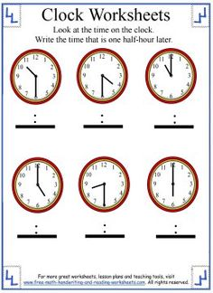 14 best telling time worksheets images on pinterest clock teach the concept of elapsed time to your child using one of my telling time worksheet activities find lessons on telling time to the hour half hour ibookread Read Online