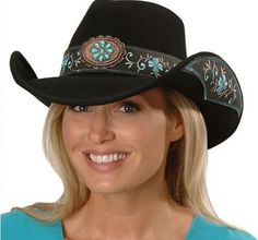 Cowgirl Hats for Women ~ I need a new hat for 2014 when u ride @ A run I need a hat that will not fly off!!!!   Stephen & Buck go very fast